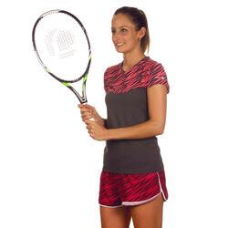 Artengo dames-T-shirt Soft Graph voor tennis, badminton, tafeltennis, padel grn - 738038