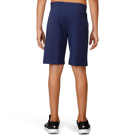 Boys' Print Fitness Shorts - Navy Blue