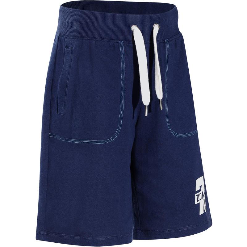 Boys' Print Fitness Shorts - Navy Blue