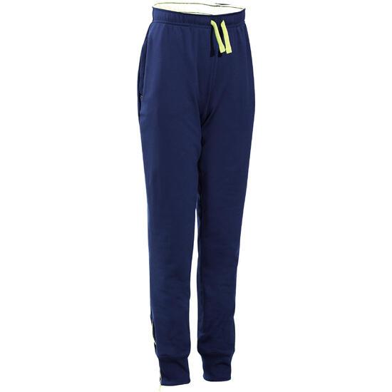 Warme gym broek voor jongens, slim fit - 738273