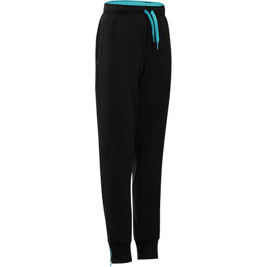 Warme gym broek voor jongens, slim fit - 738288