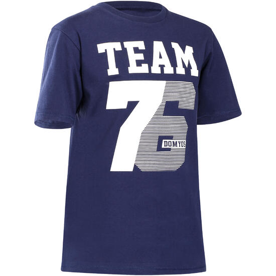 T-shirt met korte mouwen en print gym jongens - 738368