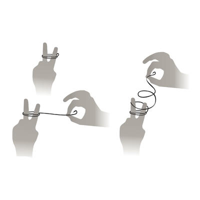 SN REVERSED spade-end hooks to line for sea fishing