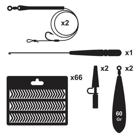 Essential carp fishing kit