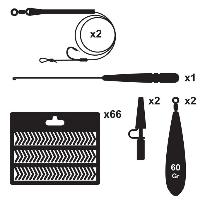 Kit essential pesca de la carpa