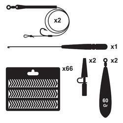 Kit essentiel pêche de la carpe