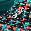 Lage skateschoenen voor dames Vulca canvas allover braids - 738740