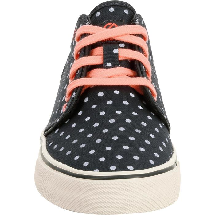 Chaussures basses skateboard-longboard adulte VULCA CANVAS L allover pois - 738793