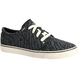 Vulca Canvas Adult Skateboarding Longboarding Low Rise Shoes - All Over Zebra