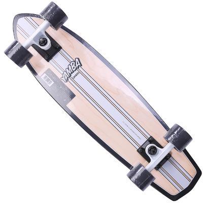 لوح التزلج خشبي Yamba Cruiser - أبيض كلاسيكي