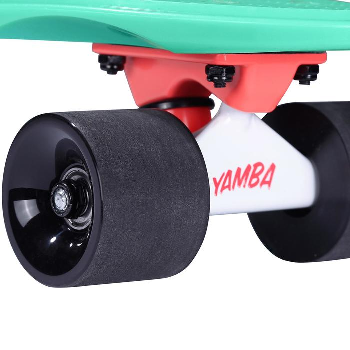 Cruiser Skateboard YAMBA verde negro