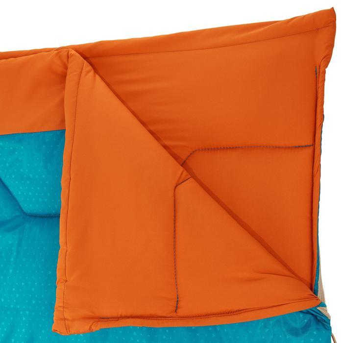 Campingschlafsack Arpenaz 15° blau