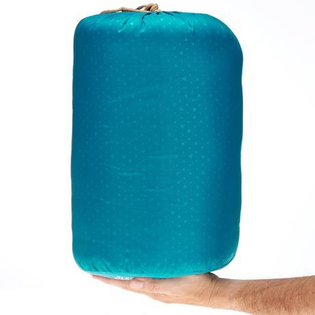 sac de couchage bleu