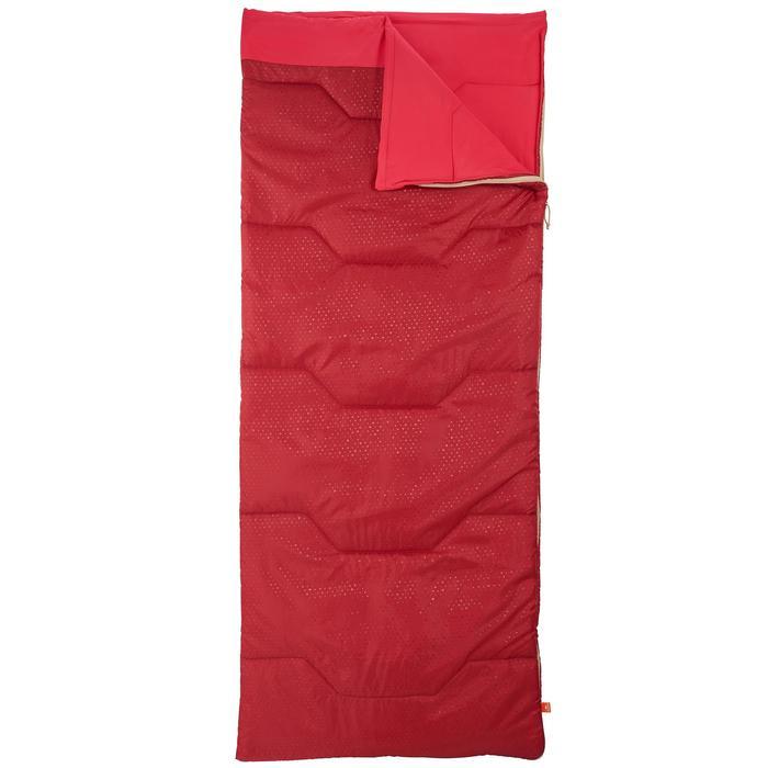 Kampeerslaapzak Arpenaz 15° rood