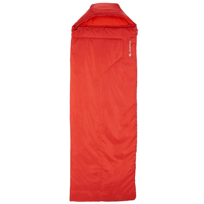 Sac de couchage de bivouac / randonnée / trek FORCLAZ 10° zip droit - 739068
