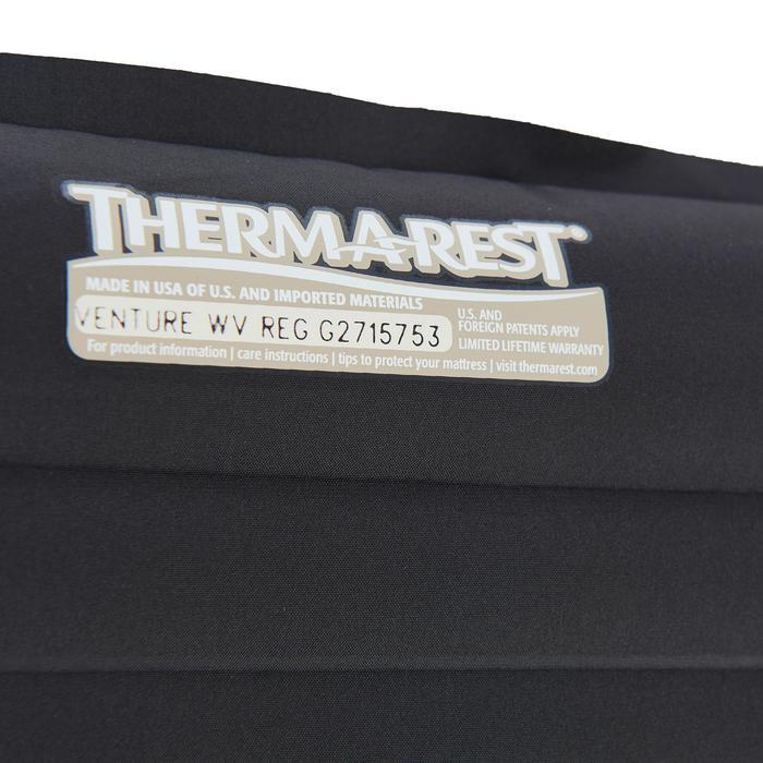 Selbstaufblasende Isomatte Venture Air schwarz Trekking