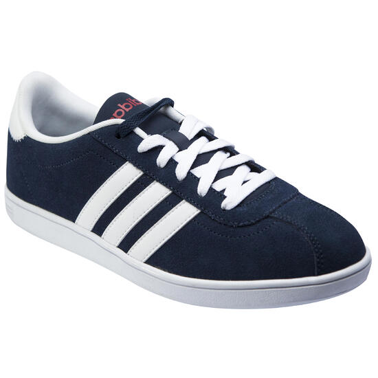 Tennisschoenen voor heren Adidas Neo Court marineblauw/wit - 739166