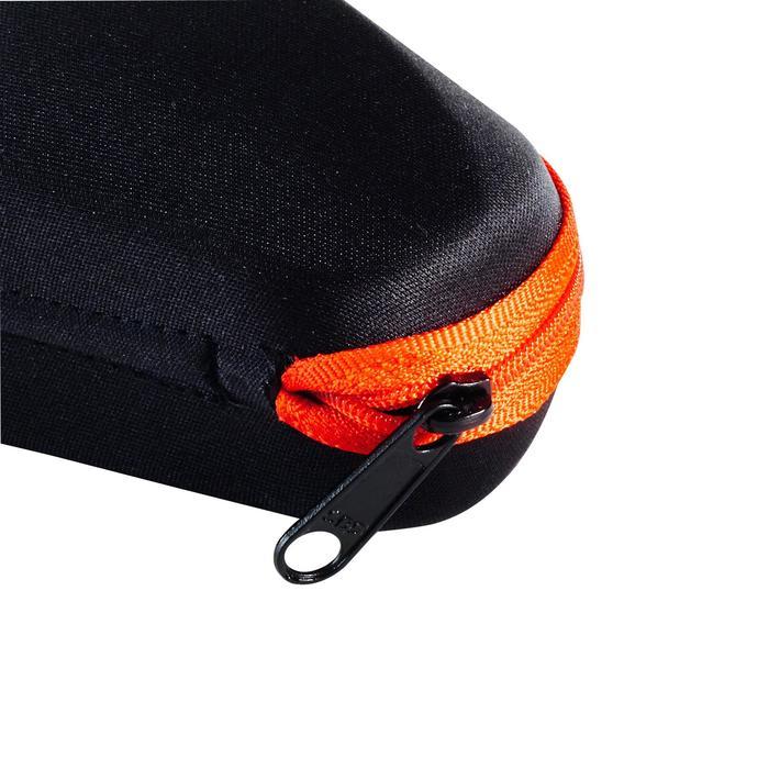 Brillenetui steif Case 560 rot/schwarz