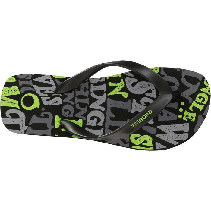 Slippers voor jongens 120 Words zwart