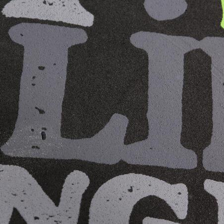 Boys' Flip-Flops 120 - Words Black