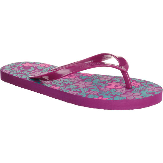 Slippers TO 100S Print Geo bl - 739689