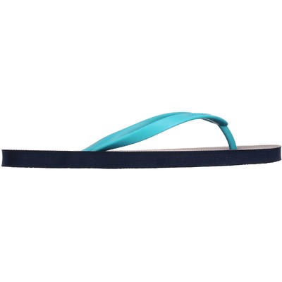 شبشب Tribord Flip Flop TO 100S للسيدات - لون أزرق