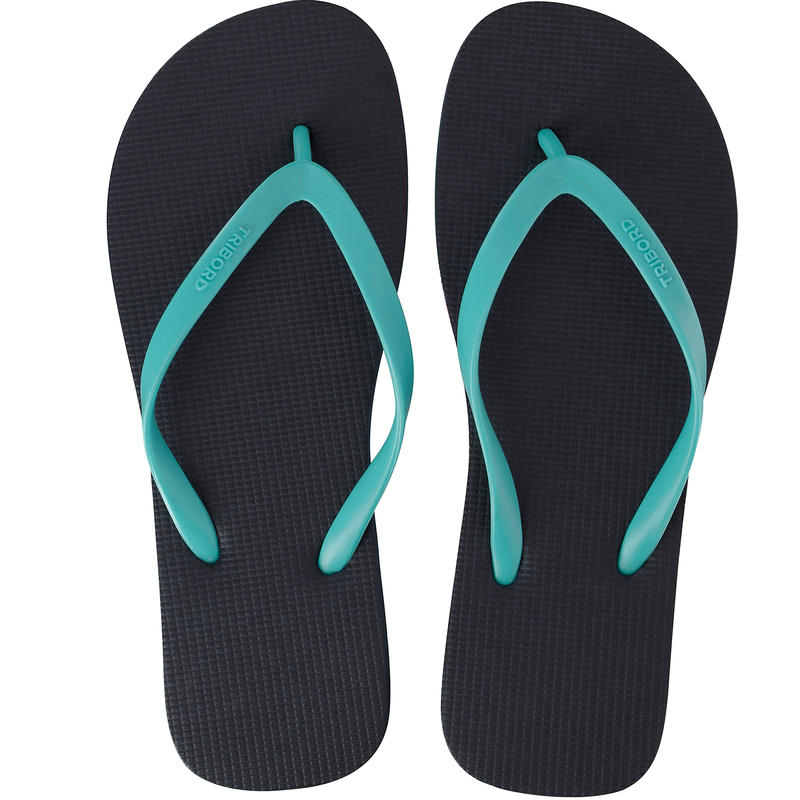 TONGS Femme TO 100 Bleu Turquoise