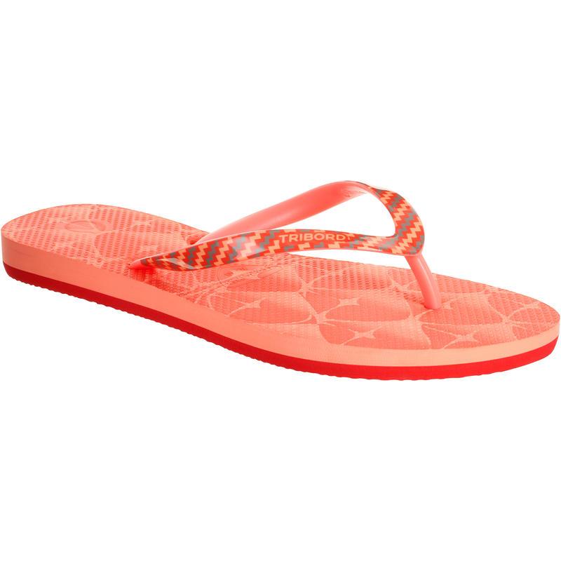 TO 500S PRINT W women's flip-flops - Pineapple nectarine