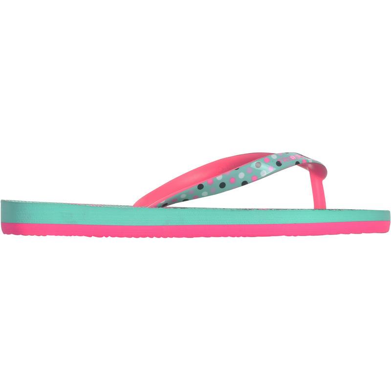 TO 500 G Girls' Flip-Flops - Coco Green