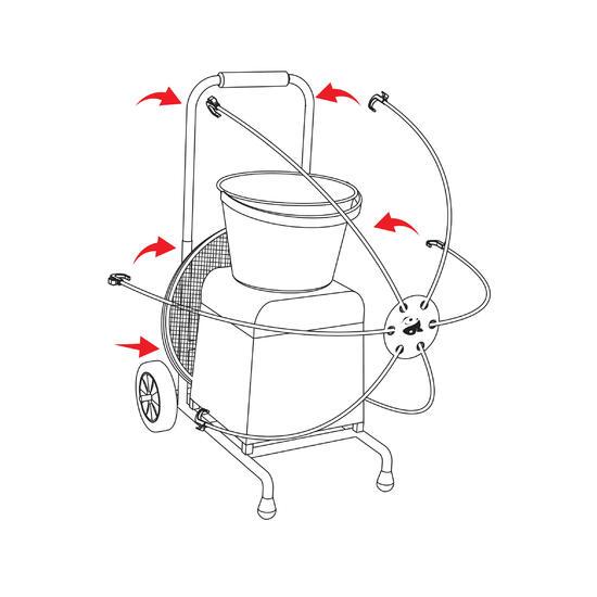 Accessoire hengel trolley CSB strap - 7409