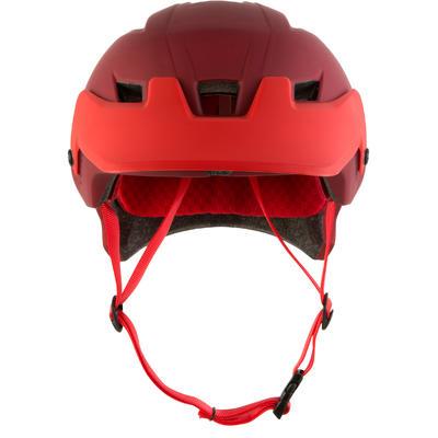 900 Mountain Bike Helmet - Garnet Red