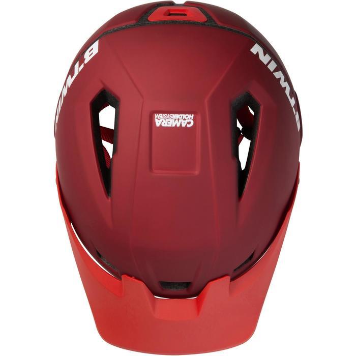 MTB-helm 900 granaatappelrood