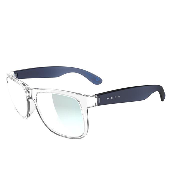 Lunettes de soleil sport adulte TRAFFORD bleues transparentes catégorie 3 - 742414