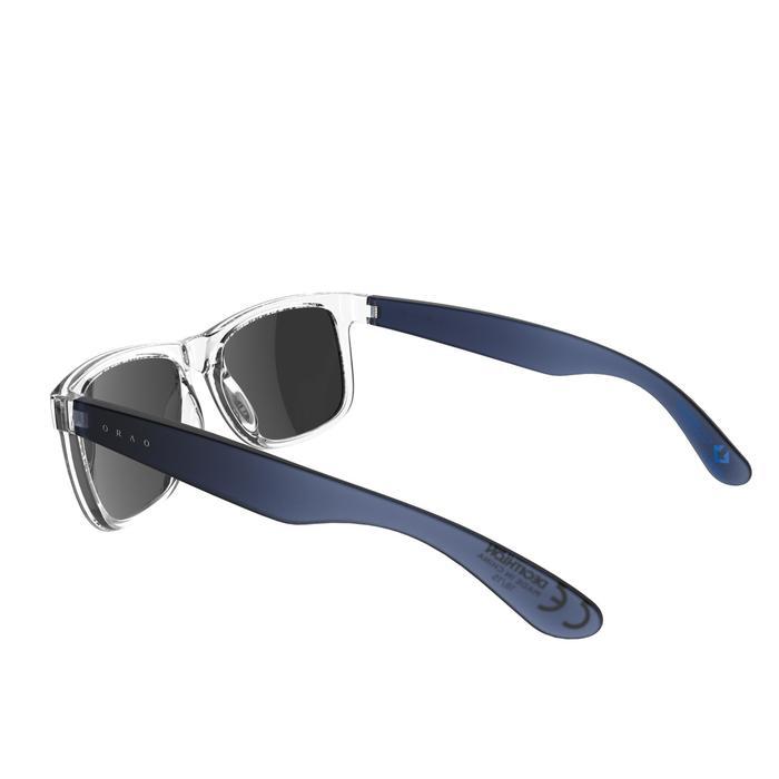 Lunettes de soleil sport adulte TRAFFORD bleues transparentes catégorie 3 - 742418