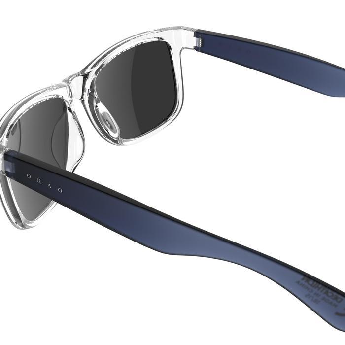 Lunettes de soleil sport adulte TRAFFORD bleues transparentes catégorie 3 - 742420