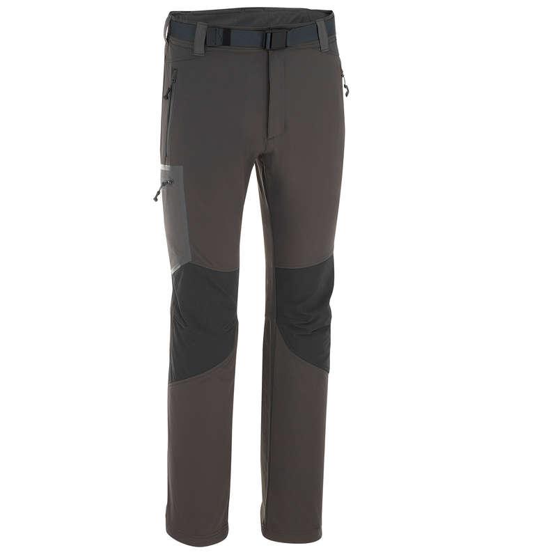 SPODNIE & POLARY TREKKING ŚNIEG MĘŻCZYZNA Turystyka - Spodnie turystyczne ciepłe Forclaz 500 męskie QUECHUA - Turystyka