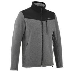 Heren softshell jas voor trekking Windwarm 300