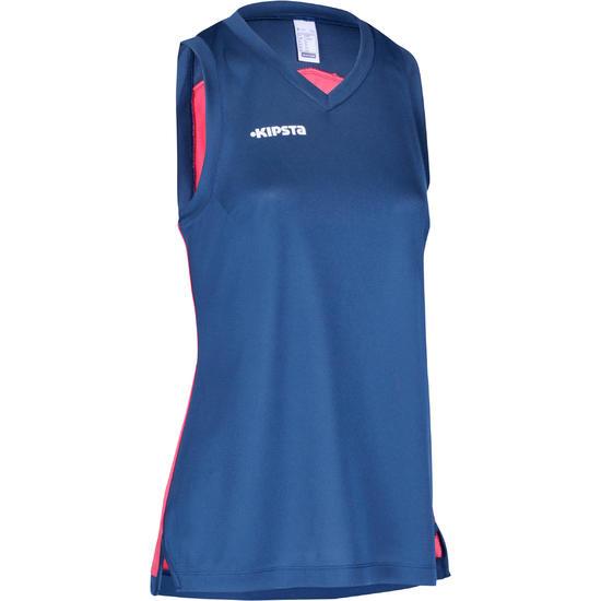 Basketbalshirt B500 mouwloos dames - 742769