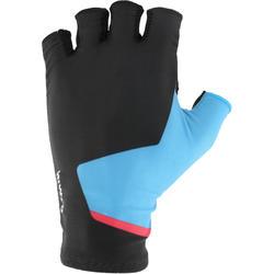 Fietshandschoenen Roadr Aerofit 900 zwart/blauw/roze
