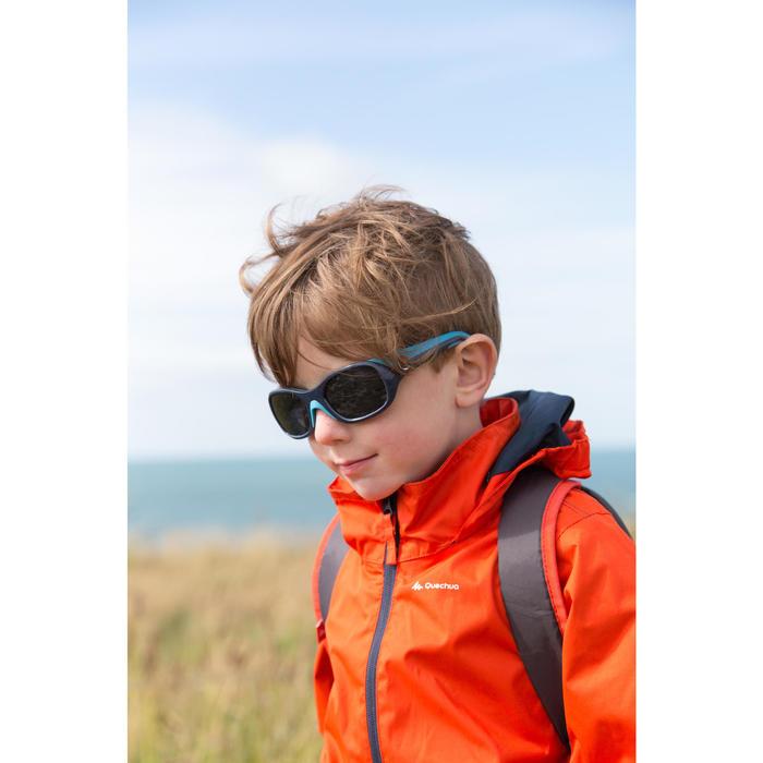 Lunettes de soleil randonnée enfant 3-6 ans KID 500 roses catégorie 4 - 742998