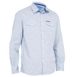 100 חולצת לגבר - כחולה