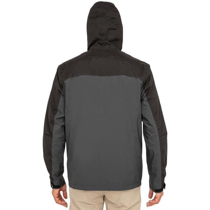Zeiljas 100 voor heren, zwart/grijs