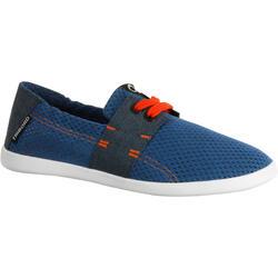 AREETA JR 男童鞋 - 藍色/橘色