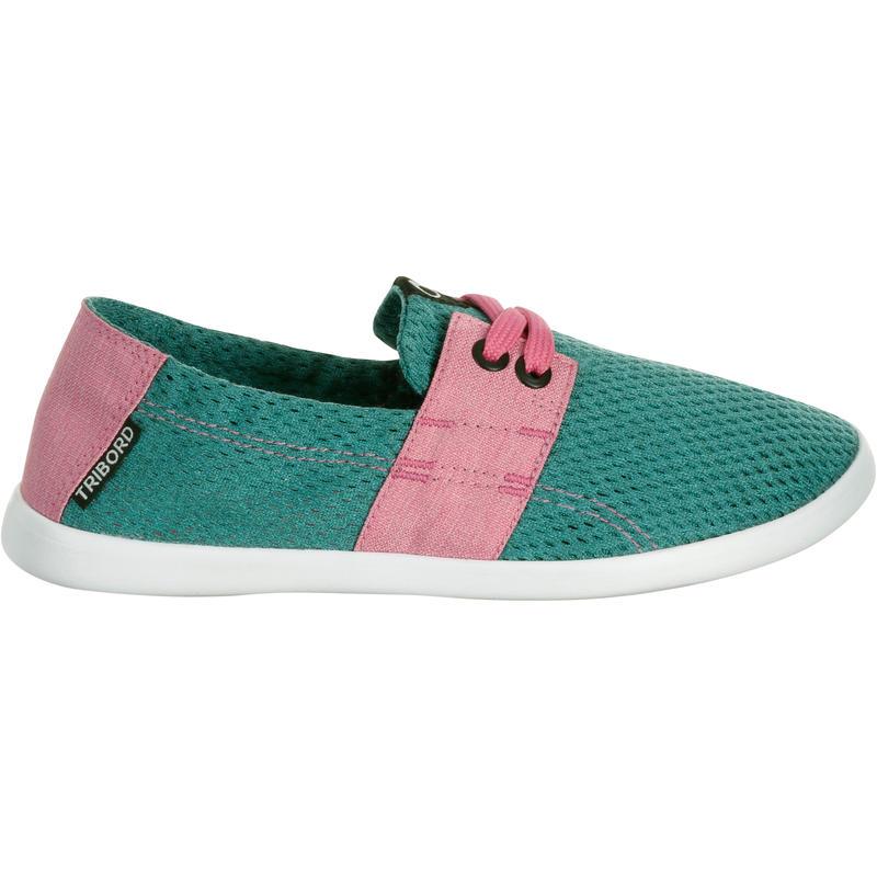 chaussure de plage junior areeta jr vert rose decathlon. Black Bedroom Furniture Sets. Home Design Ideas