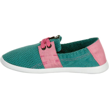 areeta jr green pink 16**