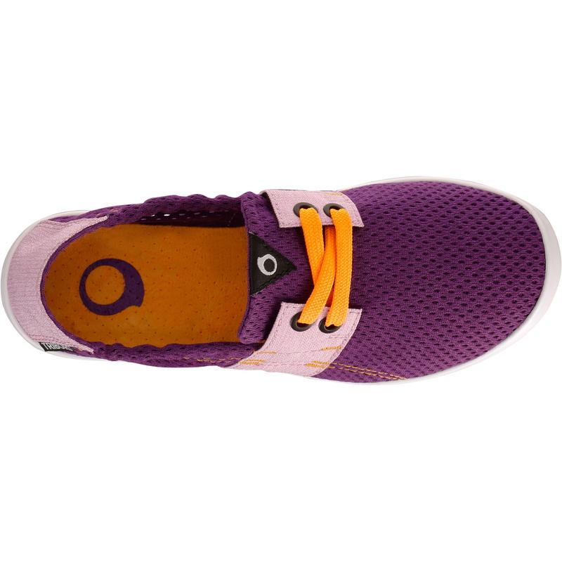 chaussure de plage junior areeta jr violet decathlon. Black Bedroom Furniture Sets. Home Design Ideas