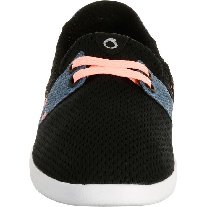 Zapatillas Playa Surf Olaian Mujer Tela Cerradas Negro