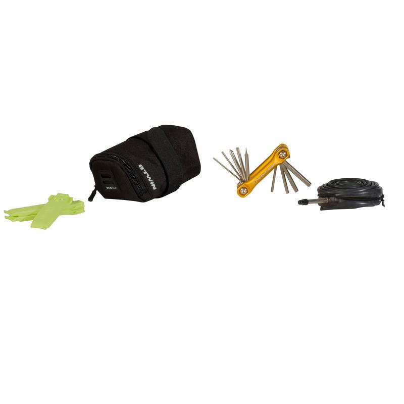 100 Cycling Saddle Bag 0.5L - Black