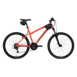 Zadeltas fiets 100 0,5 l zwart