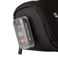 100 Bike Repair Kit and Saddle Bag 0.5L - Black